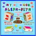 Mon Aleph-Beth Cubes