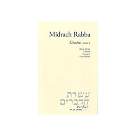 Midrach Rabba: Genèse – Tome 1