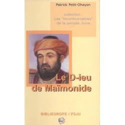 Le Dieu de Maïmonide
