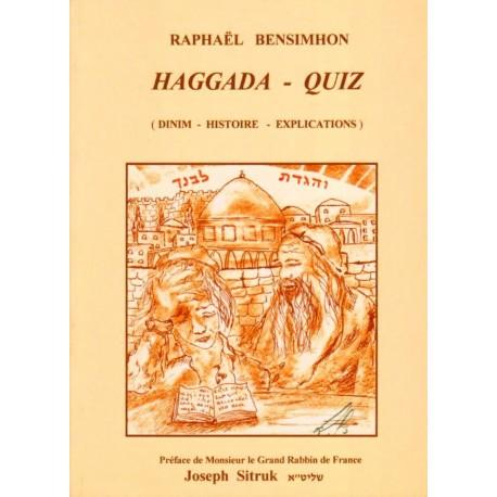 Haggada Pessah - QUIZ (Broché)