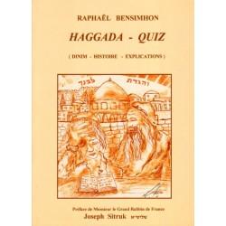 Haggada Pessah - QUIZ (Relié)