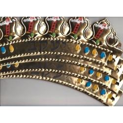 Un LOT de 6 Couronnes de décoration de SOUCCA