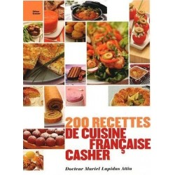 200 recettes de cuisine française casher
