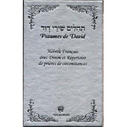 Psaumes de David - Hébreu Français argent