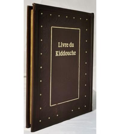 Le livre du Kiddouche - Hébreu et Phonétique