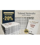 Talmud Steinsaltz - set 40 volumes