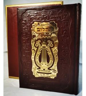 Tehilim Lemaan chemo Psaumes de David - Luxe cuir