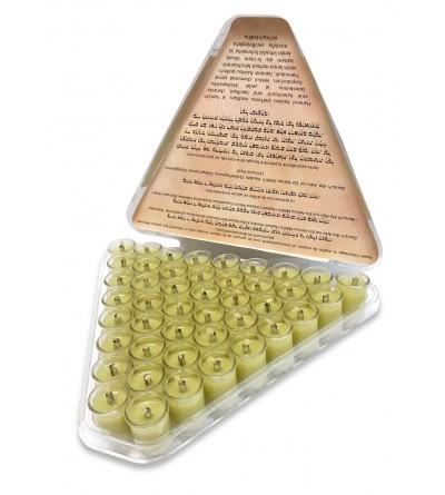 Fioles d'huile d'Olive gélifié - Medium