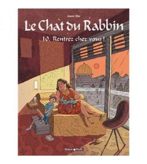 Le Chat du Rabbin Tome 10 - Rentrez chez vous !