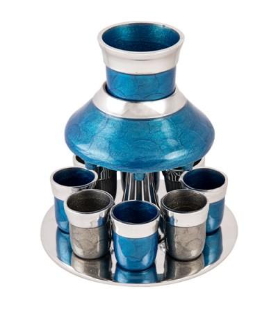 Fontaine à vin Bleu et Gris