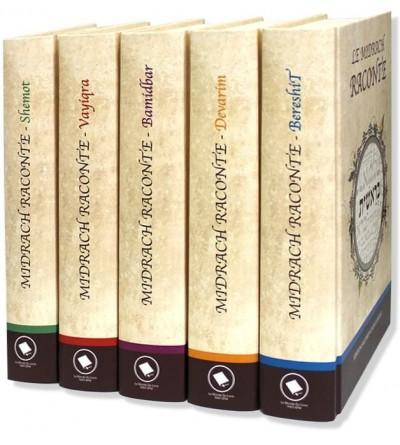 Midrach Raconte - série 5 Volumes