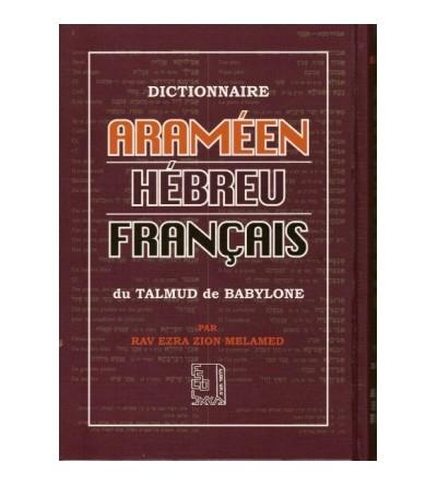 Dictionnaire Araméen Hébreu Francais du Talmud de Babylone