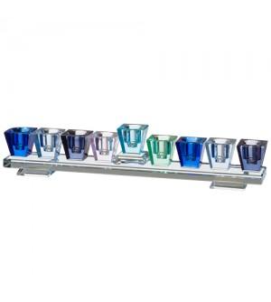 Hanoukia Cristal Horizon bleue