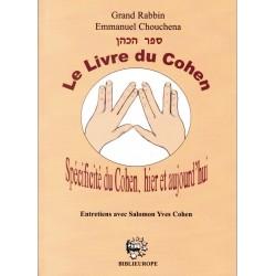 Le Livre du Cohen Spécificité du Cohen, hier et aujourd'hui