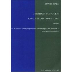 Cabale et contre-histoire - Gershom Scholem