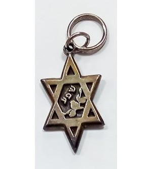 Porte clé étoile de David - Chefa (Abondance)