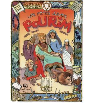 Les fêtes juives - Pourim BD