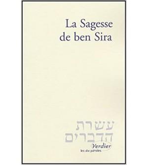 La Sagesse de ben Sira