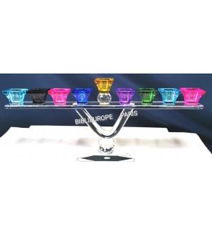 Hanoukia Cristal Multicouleur