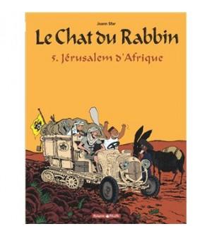 Le Chat du Rabbin Tome 5 - Jérusalem d'Afrique