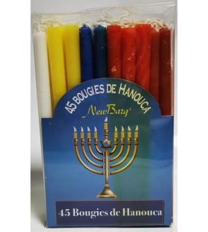 Bougies de Hanouka (longues)
