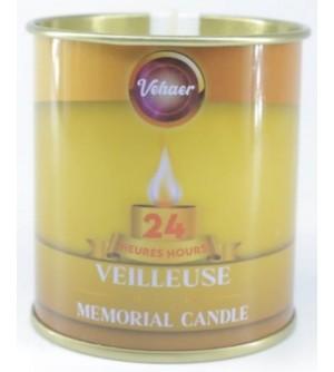 Bougie Mémoire - Veilleuse 24 heures